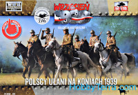 Polish Uhlans on Horses 1939