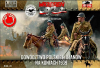 Polish Uhlans Command on Horseback 1939