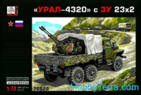 URAL-4320 with 23 mm gun ZU-23-2