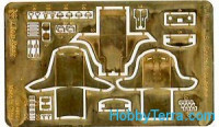 Photo-etched set 1/48 WWII US Seats & Buckles, Part I