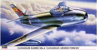"Hasegawa  09680 Canadair Sabre Mk.6 ""Canadian Armed Forces"""