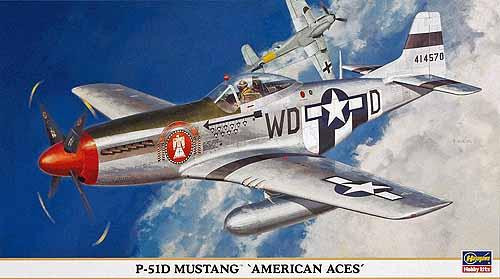 "P-51D Mustang ""American Aces"""