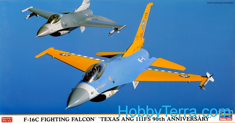 "F-16C Fighting Falcon ""Texas Ang 111FS 90th Anniversary"""