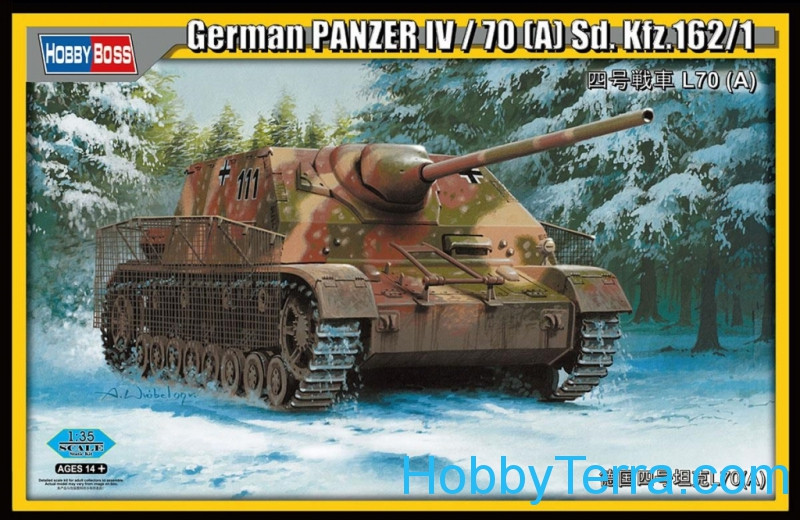 German Panzer IV/70 (A) Sd.Kfz.162/1