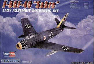 "Hobby Boss  80259 American F-86F-40 ""Sabre"" Fighter"