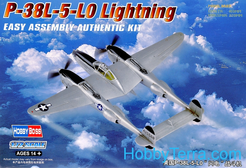 P-38L-5-L0 Lightning, Easy Assembly kit