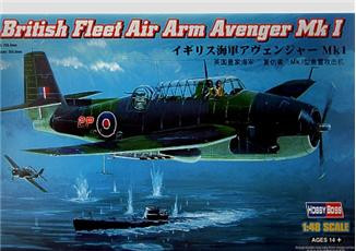 Hobby Boss  80331 British Fleet Air Arm Avenger Mk 1