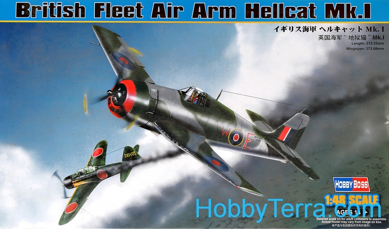 British Fleet Air Arm Hellcat Mk.I