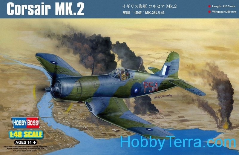 Hobby Boss  80395 Corsair MK.II fighter