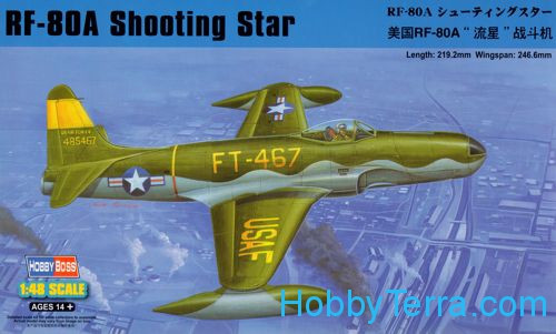 RF-80A Shooting Star fighter