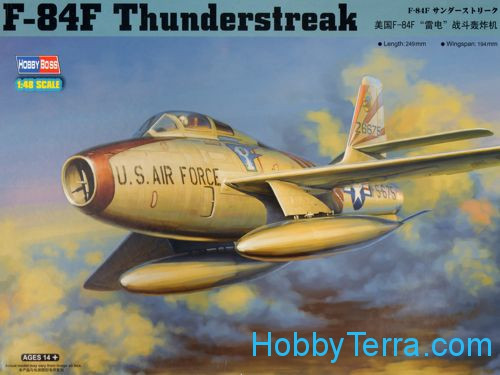 F-84F Thunderstreak fighter