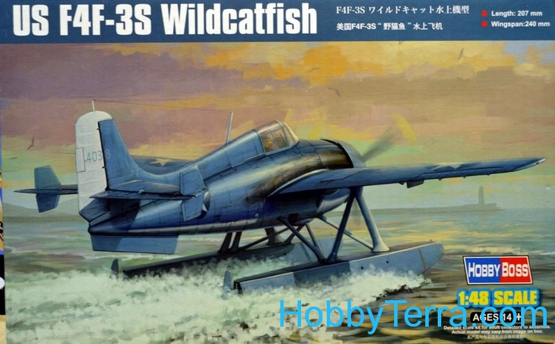 Hobby Boss  81729 US F4F-3S Wildcatfish