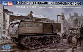 Hobby Boss  82408 M4 HIGH SPEED TRACTOR (155mm/8-in./240mm)