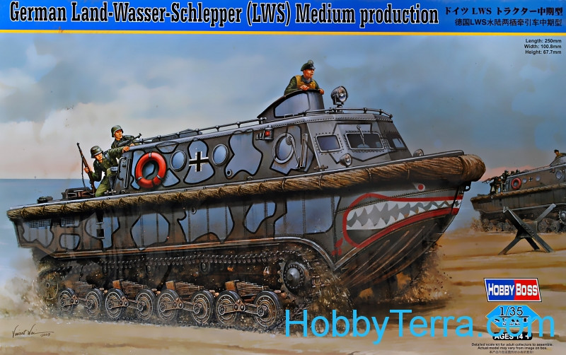 German Land-Wasser-Schlepper (LWS) Medium production