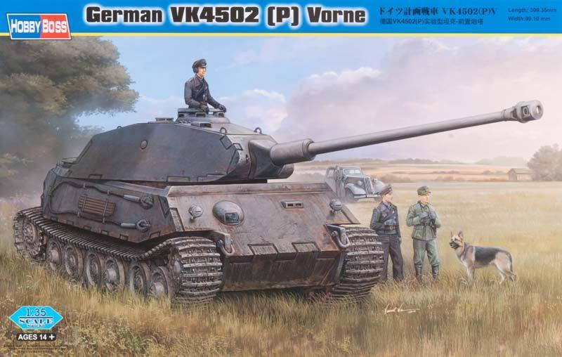 German VK4502 (P) Vorne