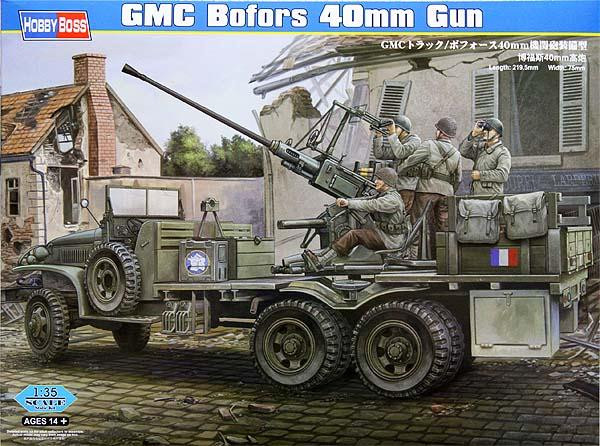 GMC truck with Bofors 40mm gun