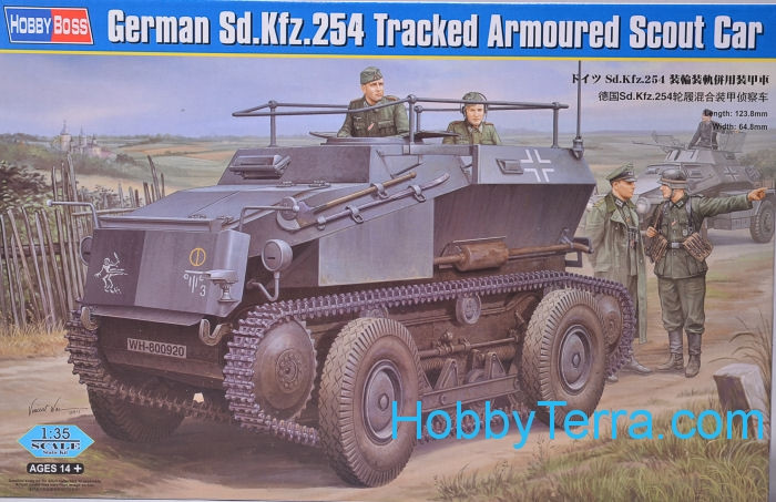 German Sd.Kfz.254 Tracked Armoured Scout Car