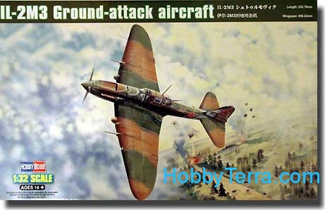 Hobby Boss  83204 IL-2M3 Ground attack aircraft