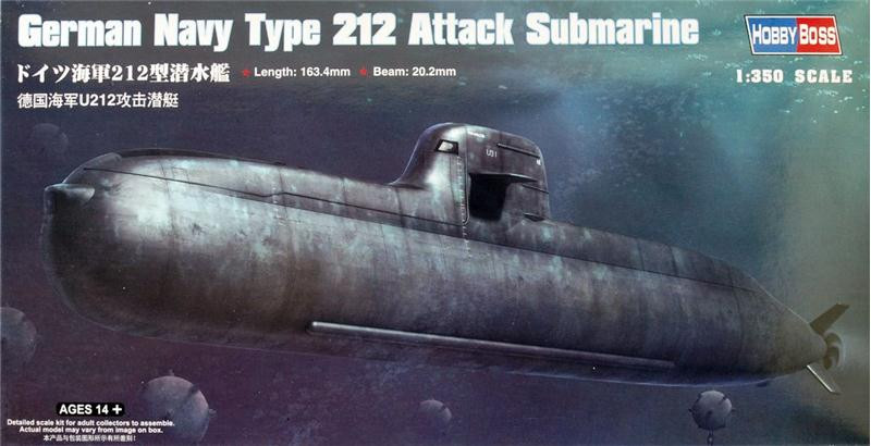 Hobby Boss  83527 German Navy Type 212 Attack Submarine