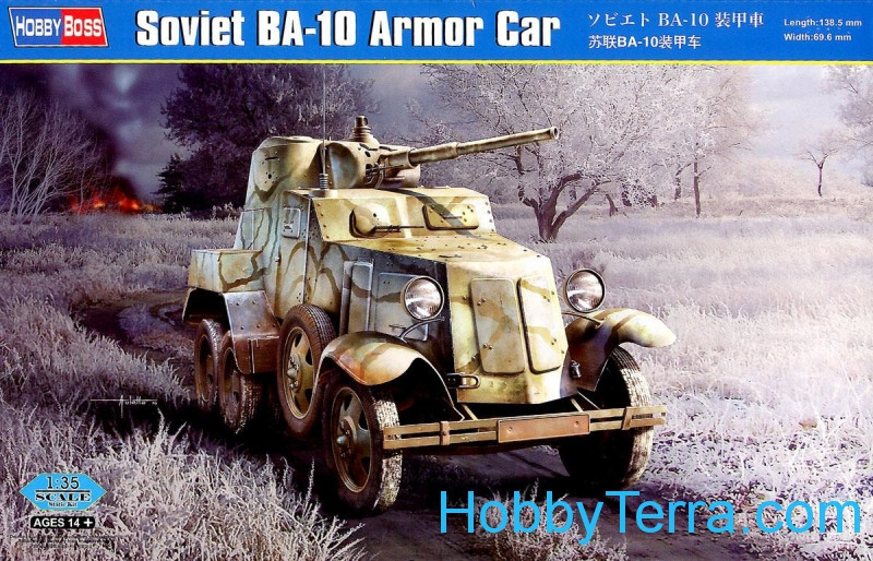 Hobby Boss  83840 Soviet BA-10 armored car
