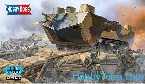 French Saint-Chamond heavy tank, early