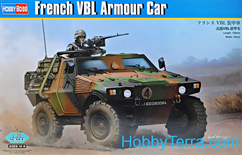 Hobby Boss  83876 French VBL armored car