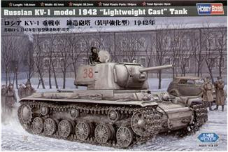 Russia KV-1 model 1942 Lightweight Cast Tank