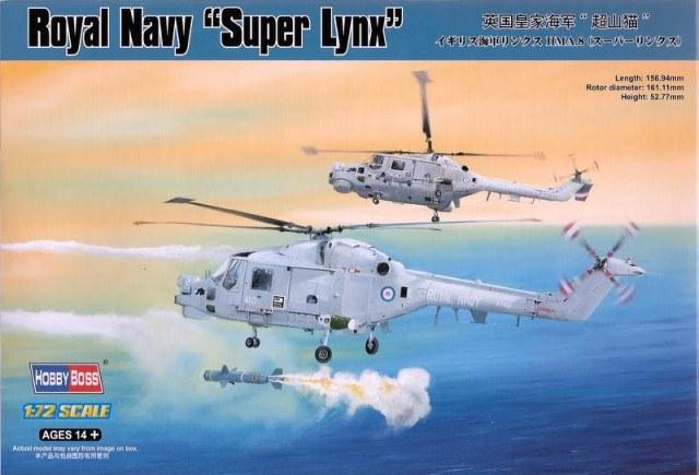 "Hobby Boss  87238 Royal Navy ""Super Lynx"""