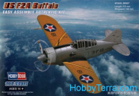 USAF F2A Buffalo fighter. Easy kit