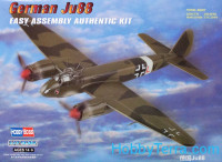 German Ju-88 fighter. Easy kit