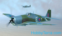 British Hellcat Mk.II fighter