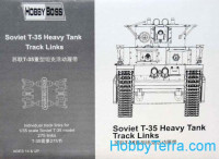 Track links for Soviet T-35 heavy tank