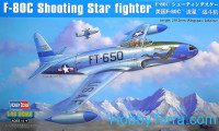 Lockheed F-80C Shooting Star fighter