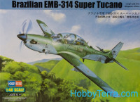 Brazilian EMB-314 Super Tucano strike aircraft