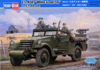 "U.S. M3A1 ""White Scout Car"" Early Version"