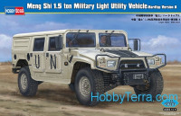 Dong Feng Meng Shi 1.5 ton Military Light Utility Vehicle - Hardtop Version A