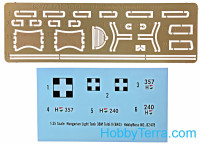 Hobby Boss  82478 Hungarian Light Tank 38M Toldi II (B40)