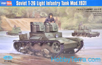 Soviet T-26 light infantry tank, mod.1931