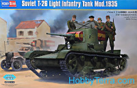 Soviet T-26 light infantry tank mod.1935