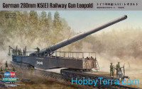 German 280mm K5(E) Railway Gun Leopold