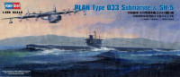 PLAN Type 033 Submarine & SH-5