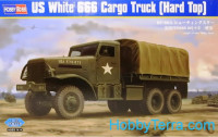 U.S. White 666 Cargo truck (hard top)