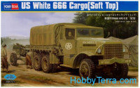U.S. White 666 Cargo (Soft Top) truck