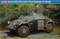 German Sd.Kfz.222 Leichter armored car, 1st series