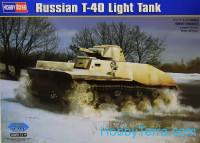 Russian T-40 light tank