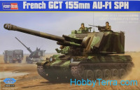 French GCT 155mm AU-F1 selg-propelled howitzer
