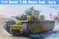 Soviet T-35 heavy tank, early prod.