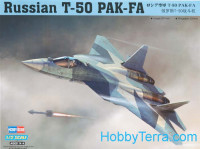 Russian T-50 PAK-FA fighter