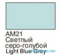 Light grey blue. Matt acrylic paint 16 ml