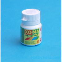 Homa  061 European green. Matt acrylic paint 16 ml